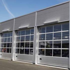 køb Industriport fra NASSAU model 9000 M ledhejseport