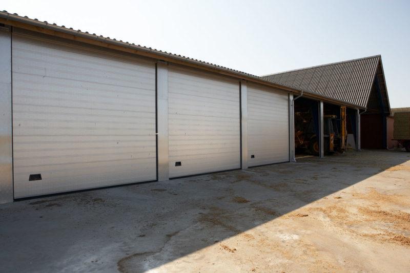NASSAU Industriporte 9000F til maskinstation