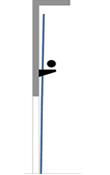Vertical Lift mit Federn auf Konsolen